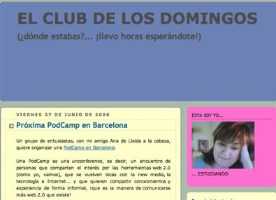 El Club De Los Domingos  Próxima Podcamp En Barcelona